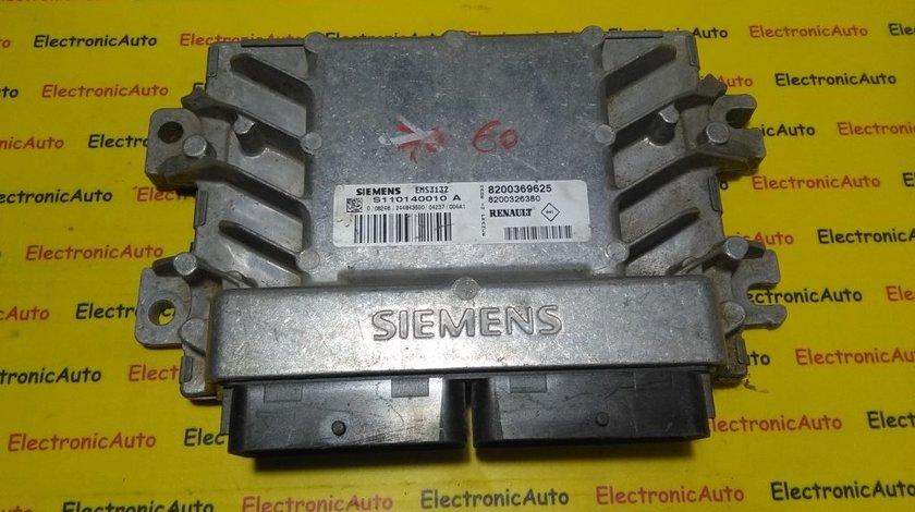 ECU Calculator motor Dacia Logan 1.6 8200369625, S110140010A