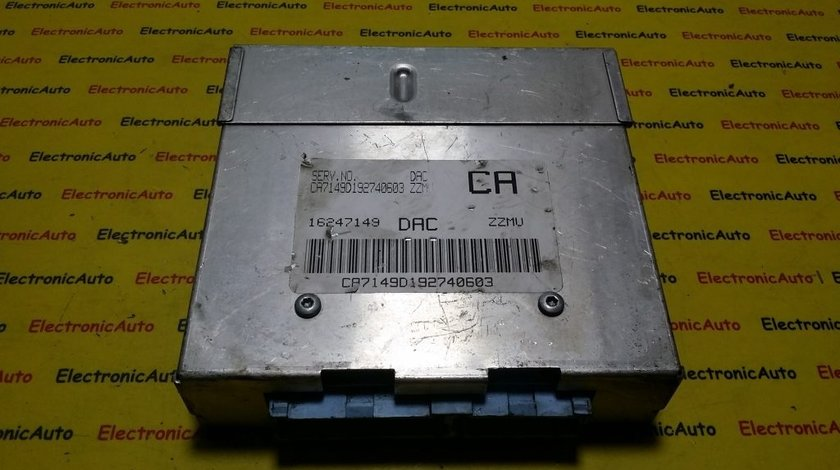 ECU Calculator motor Daewoo Lnaos 1.5 16247149 DAC (6WK5)