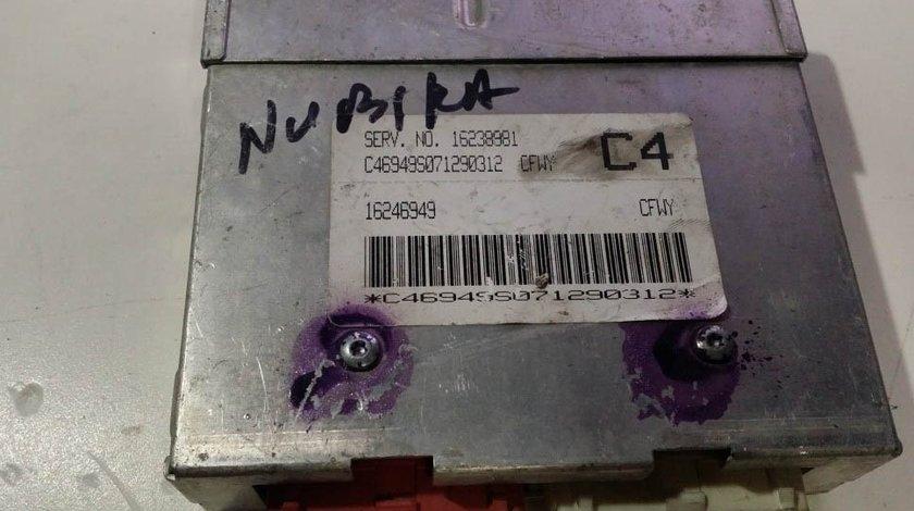 ECU Calculator motor Daewoo Nubira 1.6 16238981 C4 CFWY