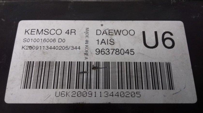 ECU Calculator Motor Daewoo Nubira 1.6, 96378045, S010016006D0