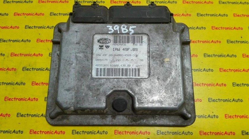 ECU Calculator motor Fiat Bravo 1.6 46551831, IAW 49F.B9