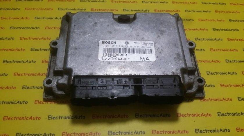 ECU Calculator motor Fiat Ducato 0281010930, 1336826080