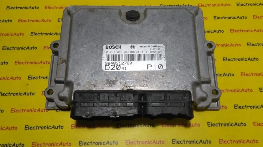 ECU Calculator motor Fiat Ducato 2.0JTD 0281010346, 28SA5540