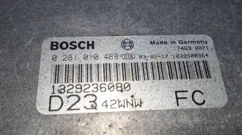 ECU Calculator motor Fiat Ducato 2.3JTD 0281010488