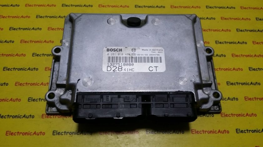 ECU Calculator motor Fiat Ducato 2.8JTD 0281010486, 1327518080