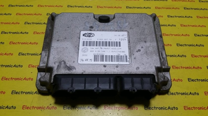 ECU Calculator motor Fiat Seicento 1.1 51819338, IAW 4AF.M9