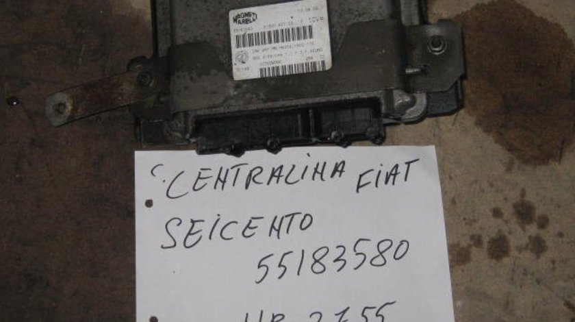 ECU Calculator motor Fiat Seicento 55183580