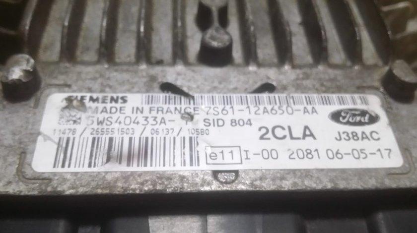 ECU Calculator motor Ford Fiesta 1.4TDCI 7S6112A650AA, 5WS40433AT