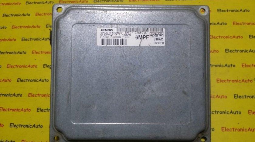 ECU Calculator motor Ford Focus 1.4 5M5112A650GF, S118934103F