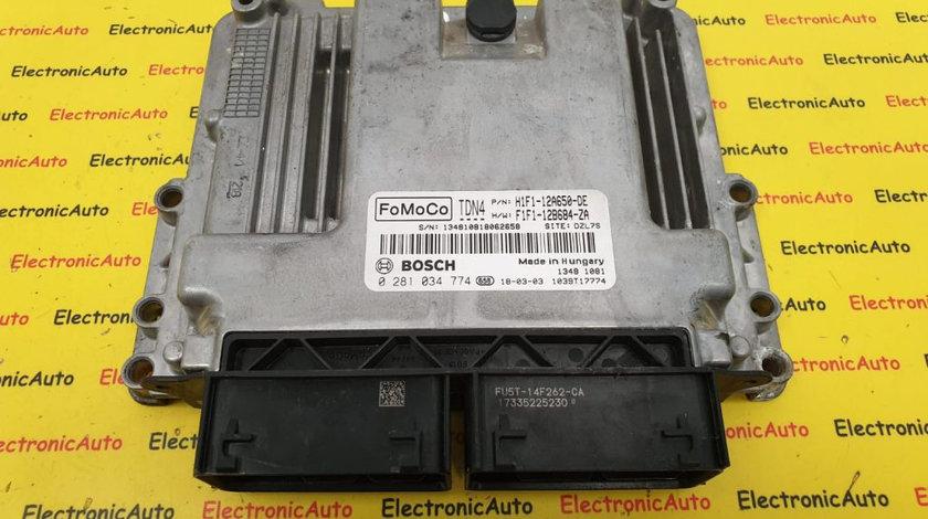 ECU Calculator Motor Ford Focus 1.5 TDCi, 0281034774, DZL7S, FoMoCo TDN4