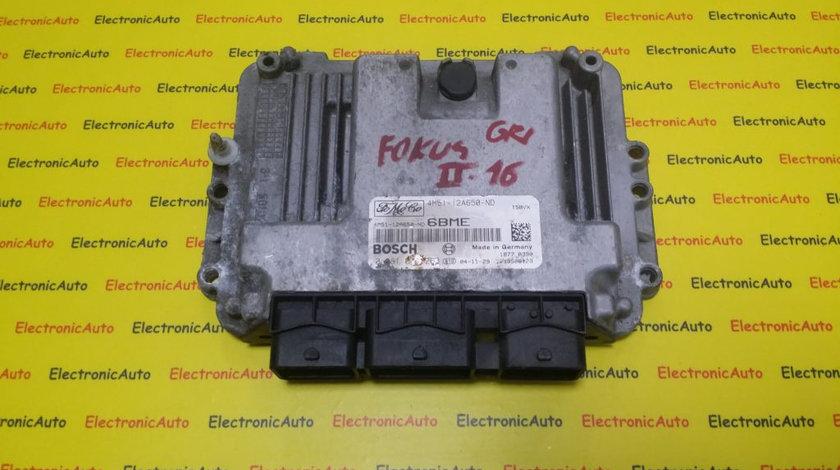 ECU Calculator Motor Ford Focus 1.6 TDCI, 4M5112A650ND, 0281011263