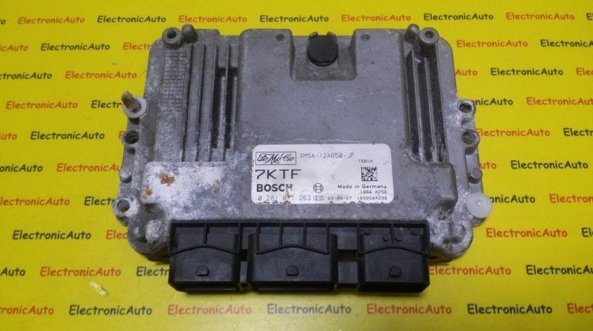 ECU Calculator Motor Ford Focus 1.6 TDCI, 3M5A12A650JF, 0281011263