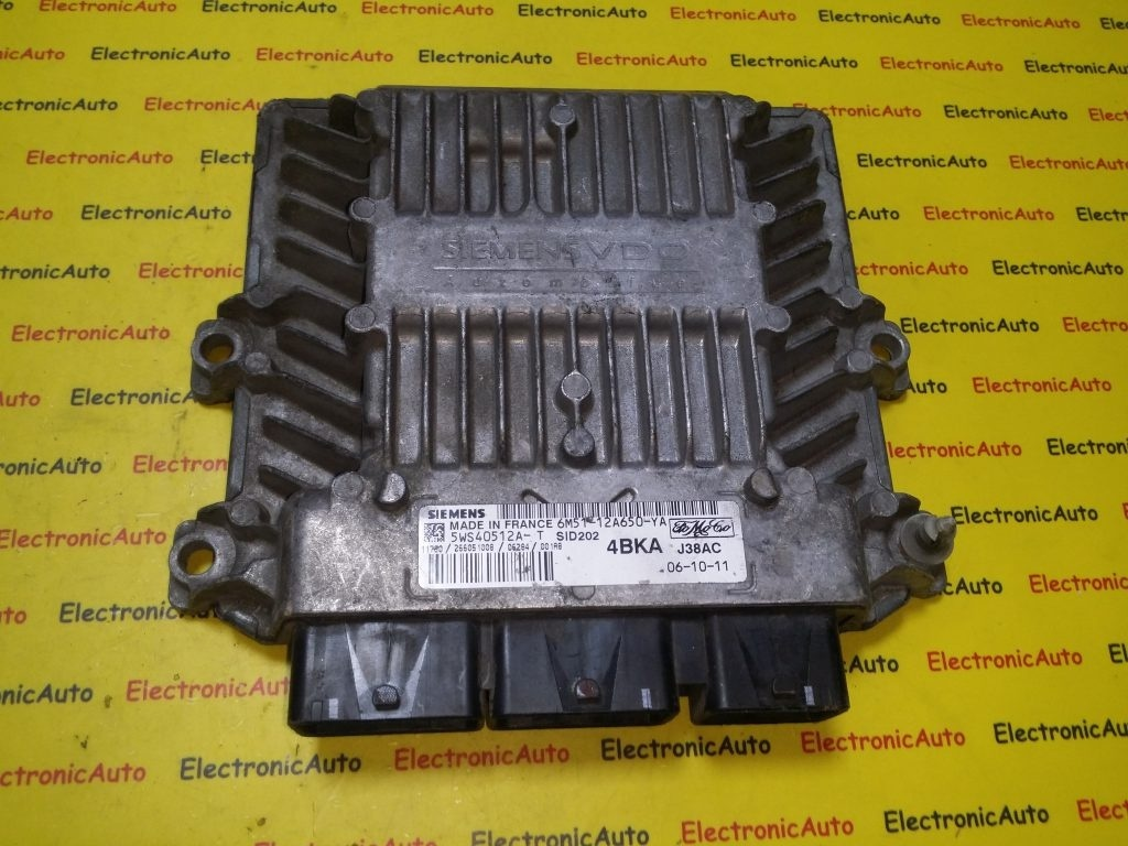 ECU Calculator motor Ford Focus 1.8 tdci 6M5112A650YA, 5WS40512A-T