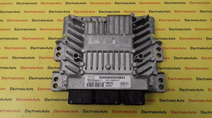 ECU Calculator Motor Ford Focus, 8V2112A650CC, 5WS40585CT