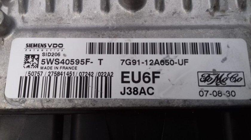 ECU Calculator Motor Ford Mondeo 2.0 TDCI, 7G9112A650UF, 5WS40595FT