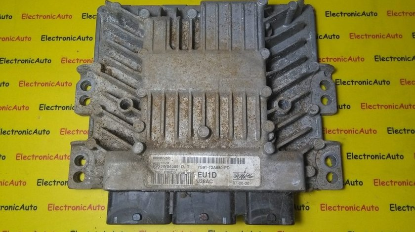 ECU Calculator motor Ford Mondeo 7G9112A650PD, 5WS40591DT