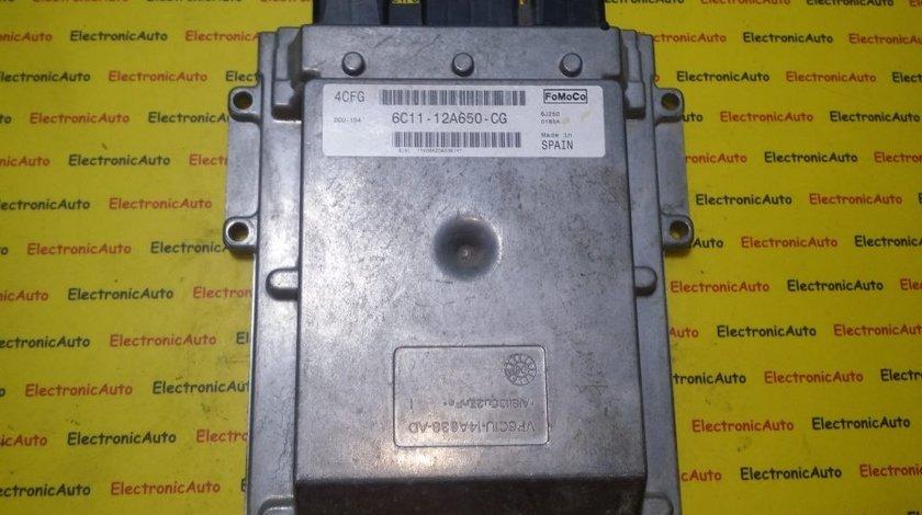 ECU Calculator motor Ford Transit 2.4TDCI 6C1112A650CG, DCU104