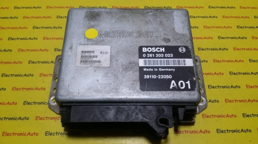 ECU Calculator motor Hyundai Coupe 1.5 0261203023, 3911022050