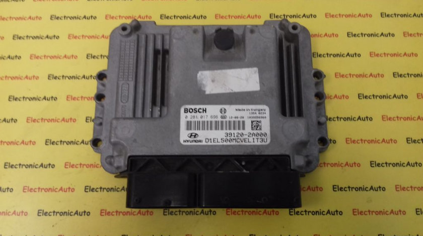 ECU Calculator Motor Hyundai IX35 1.7 CRDI, 391202A000, 0281017696