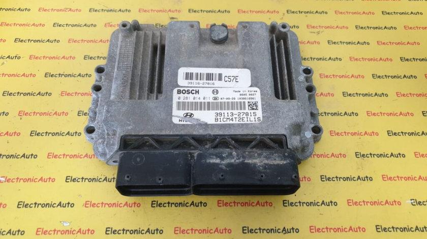 ECU Calculator Motor Hyundai Santa Fe, 0281014011, 39113-27815