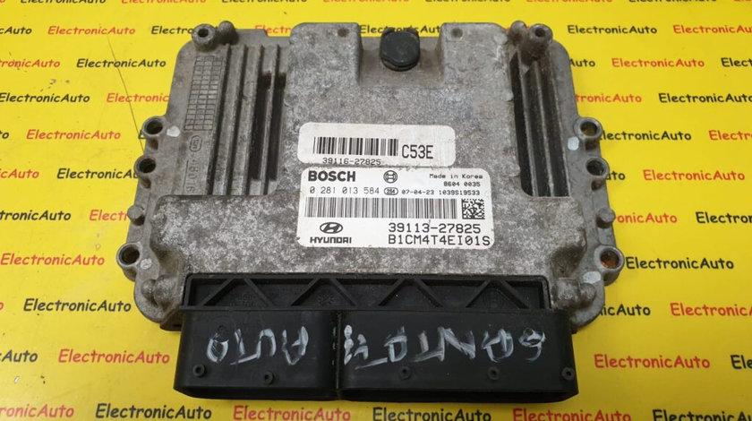 ECU Calculator motor Hyundai Santa Fe 2.2CRDI 0281013584, 3911327825