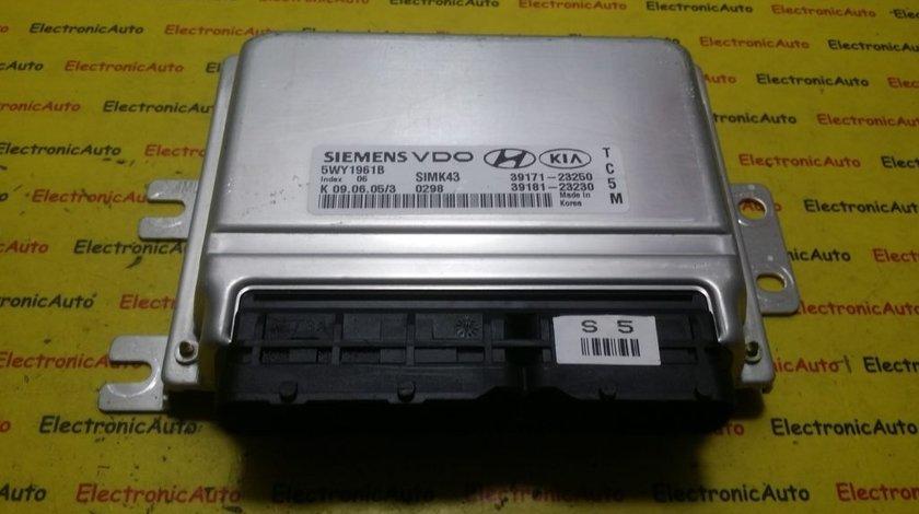 ECU Calculator motor Hyundai Tucson 2.0 5WY1961B, 3917123250