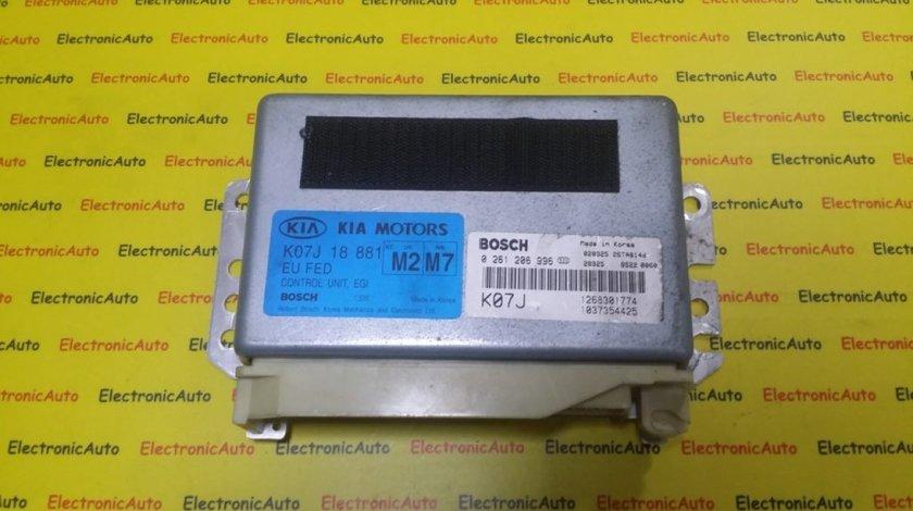ECU Calculator Motor Kia, 0261206996, K07J18881, 1268301774, 1037354425