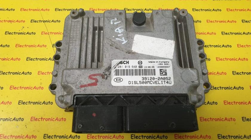 ECU Calculator Motor Kia Sportage 1.7CRDi, 0281019640, 39120-2A052