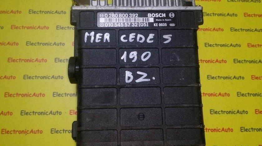 ECU Calculator motor Mercedes 190 0280800392 0105455732