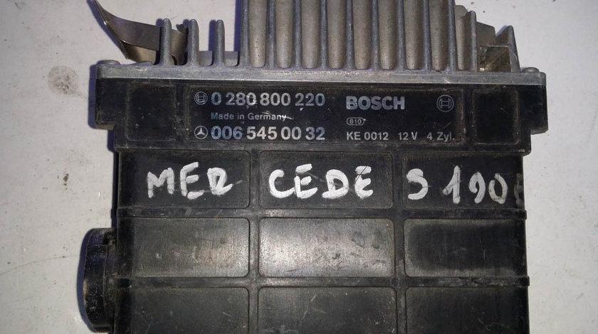 ECU Calculator motor Mercedes 190E 2.0 0065450032 0280800220