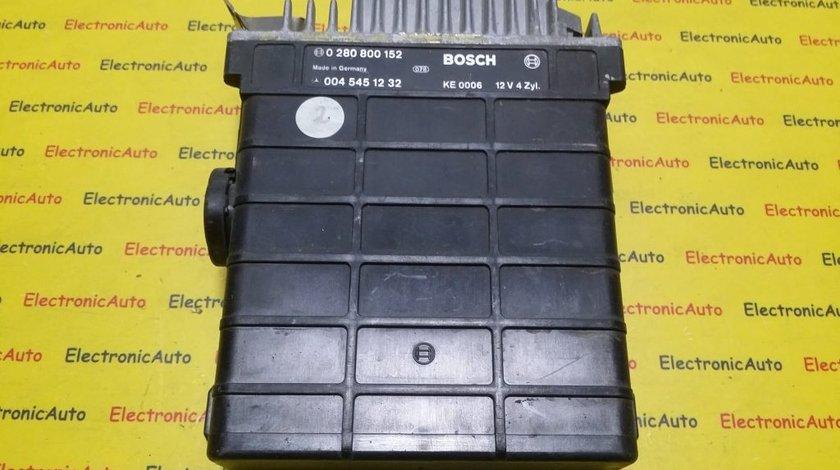 ECU Calculator motor Mercedes 190E 2.3 0280800152, 0045451232