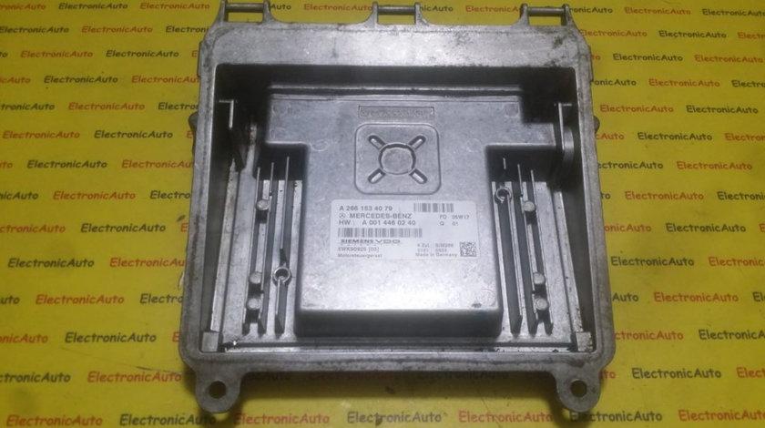 ECU Calculator motor Mercedes A170 1.7 A2661534079, A0014460240