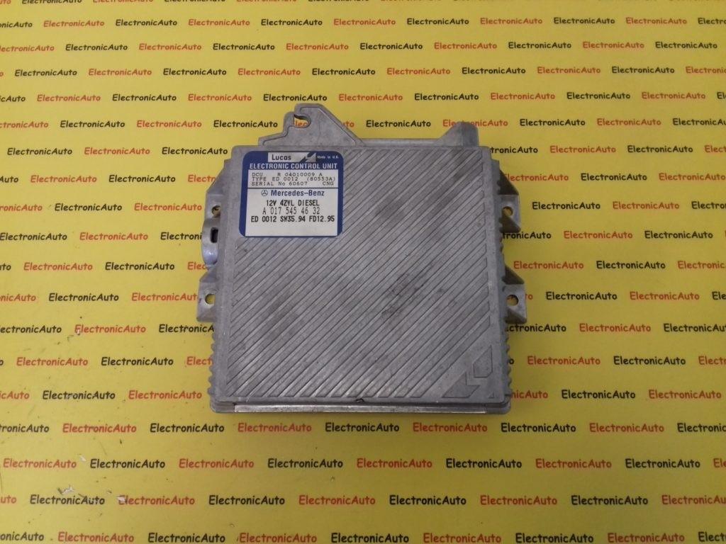 ECU Calculator Motor Mercedes C220 2.2D, A0175454632, R04010009A, Lucas
