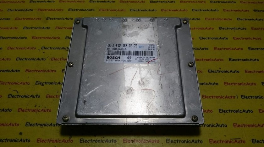 ECU Calculator motor Mercedes ML 270 2.7CDI A6121533279