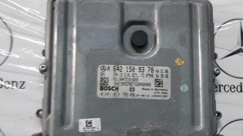 ECU Calculator motor Mercedes ML W164 COD A6421509378,0281013756