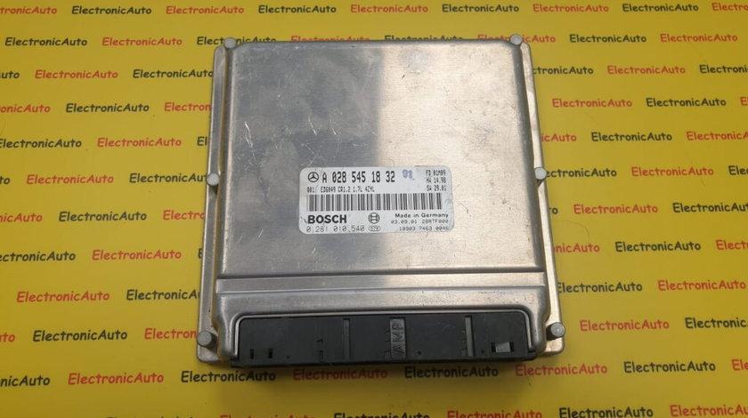 ECU Calculator Motor Mercedes Vaneo 0281010540, A0285451832 (B5RST)