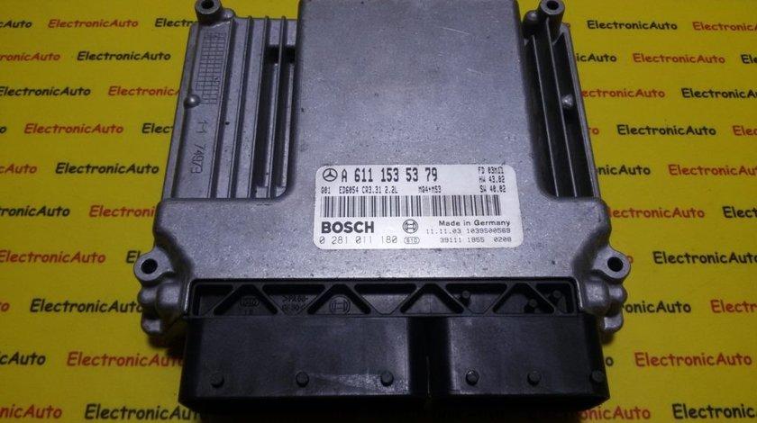 ECU Calculator motor Mercedes Vito 2.2CDI 0281011180, A6111535379