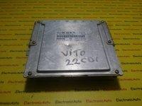 ECU Calculator motor Mercedes Vito 2.2CDI 0281010233, A0001530479