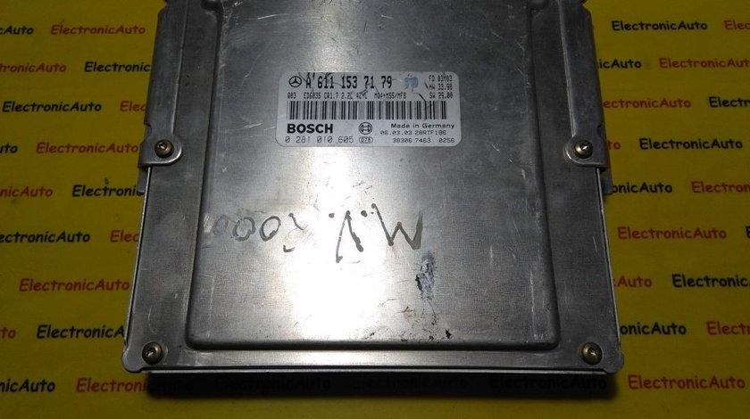 ECU Calculator motor Mercedes Vito 2.2CDI 0281010605