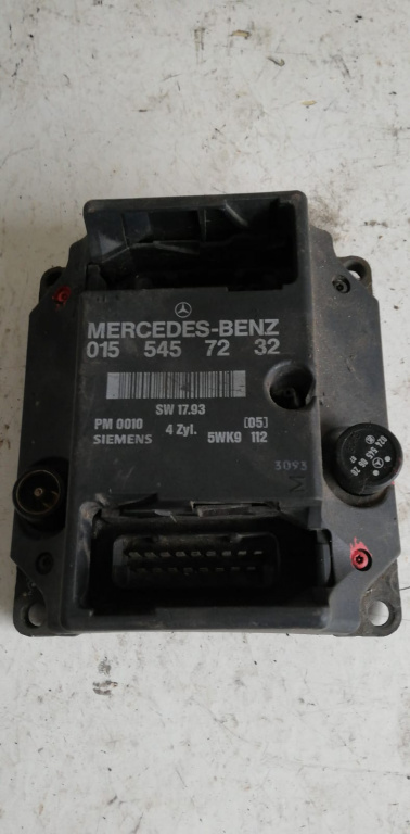 ECU Calculator motor Mercedes W124 0155457232 cod SW 17.93