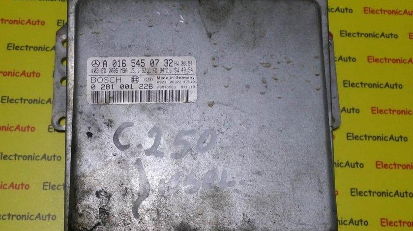 ECU Calculator motor MERCEDES W202 C 250 A0165450732 0281001226