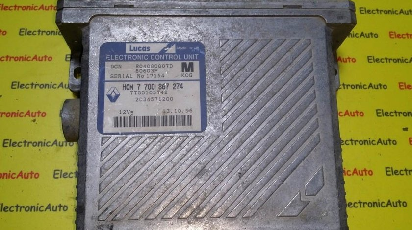 ECU Calculator motor Mitsubishi Carisma HOM7700867274