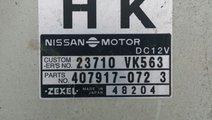 Ecu calculator motor Nissan Navara cod 23710VK563