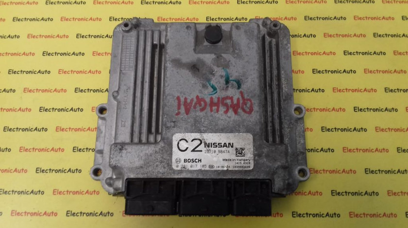 ECU Calculator Motor Nissan Qashqai 2.0 DCI, 23710BB47A, 0281017185