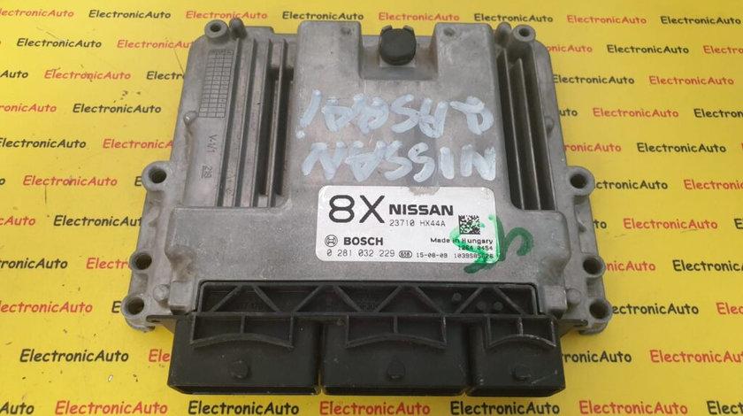 ECU Calculator Motor Nissan Qashqai 2.0DCi, 0281032229, 23710 HX44A