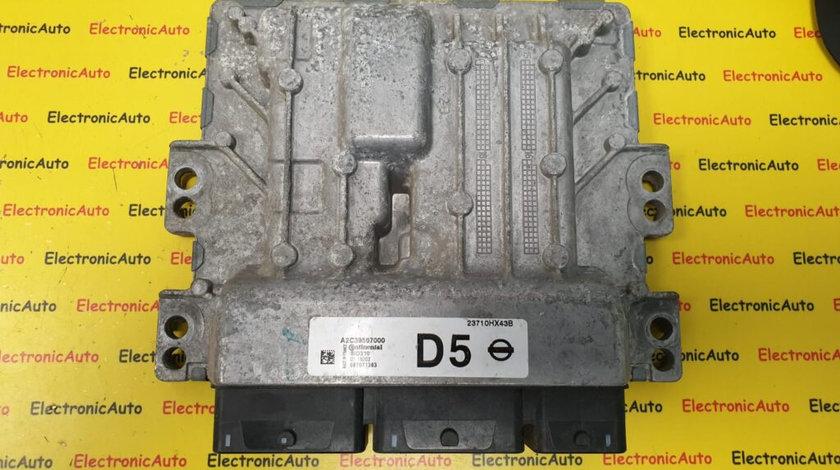 ECU Calculator motor NISSAN QASHQAI, A2C39657000, 23710HX43B