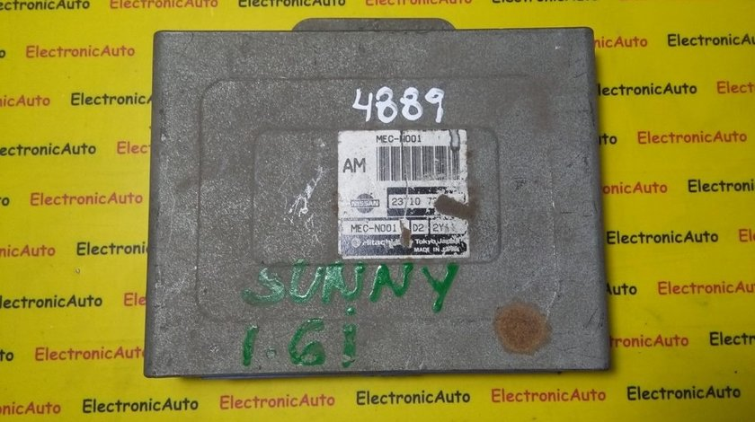 ECU Calculator motor Nissan Sunny MECN001