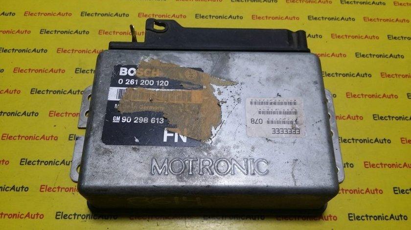 ECU Calculator motor Opel Ascona C 0261200120, 90298613