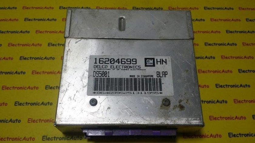 ECU Calculator motor Opel Astra F 1.4 16204699 HN BLAP