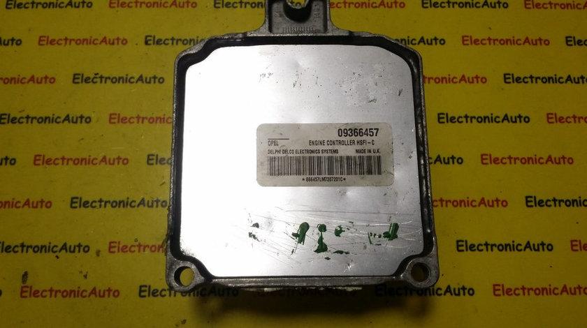 ECU Calculator motor Opel Astra G 1.6 09366457 X16XEL